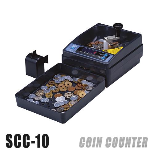 画像1: コインカウンター SCC-10 (手動タイプ)  (1)