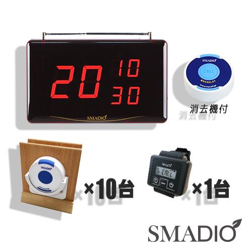 画像1: スマジオ10台+αお得セット (レシーバー1台付) メニュースタンドタイプ (1)