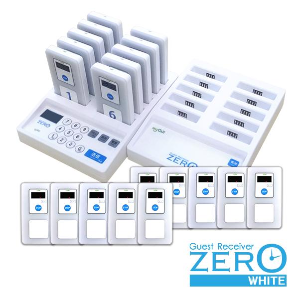 画像1: ゲストレシーバーZERO-WHITE お得な20台セット (充電器1台) (1)