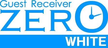 ZEROホワイト ロゴ